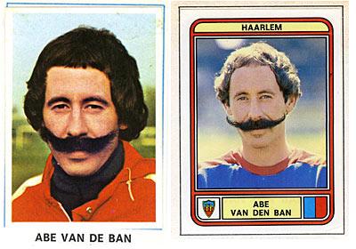 Abe van der Ban snor