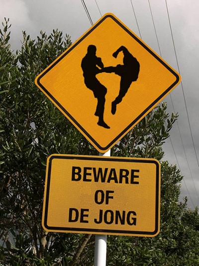 Beware of Nigel de Jong