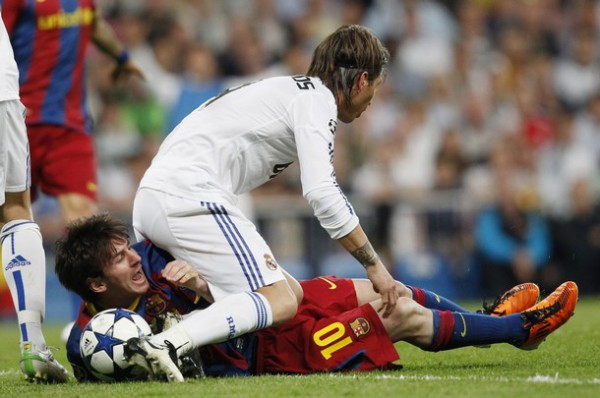 Ramos farts on Messi