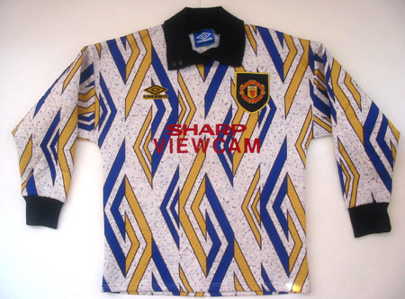 Manchester United keeper shirt 1993