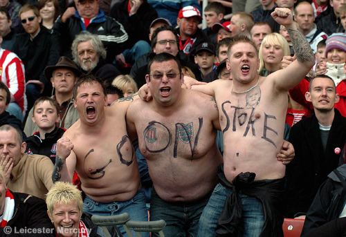 Stoke City supporters