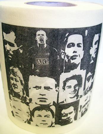 Manchester United wc papier
