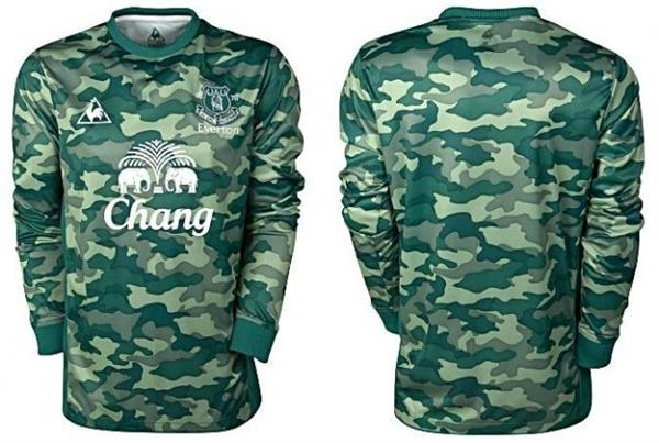 Everton keeper shirt