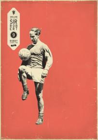 Charlton voetbalposter