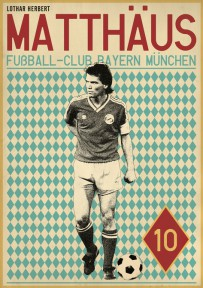 Matthaus voetbalposter