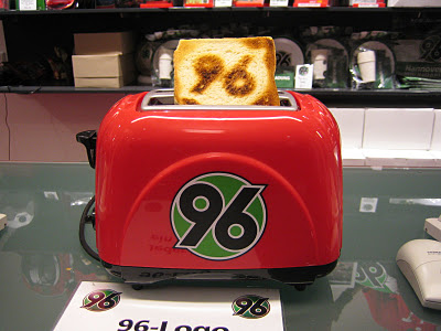 Hannover 96 toaster