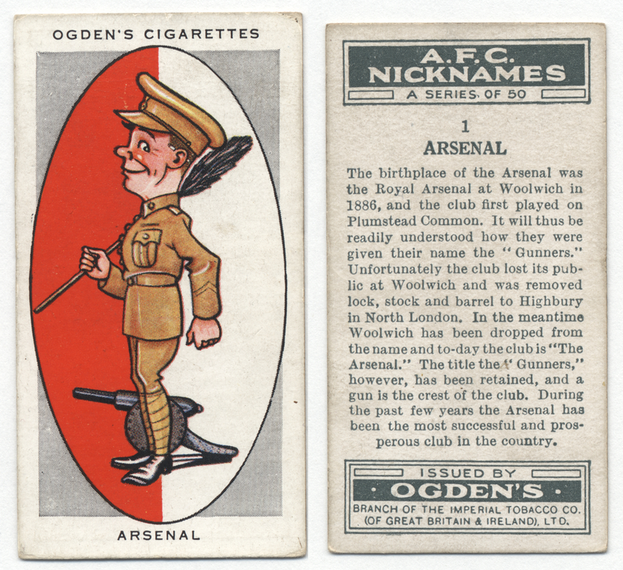 arsenal sigarettenpakje