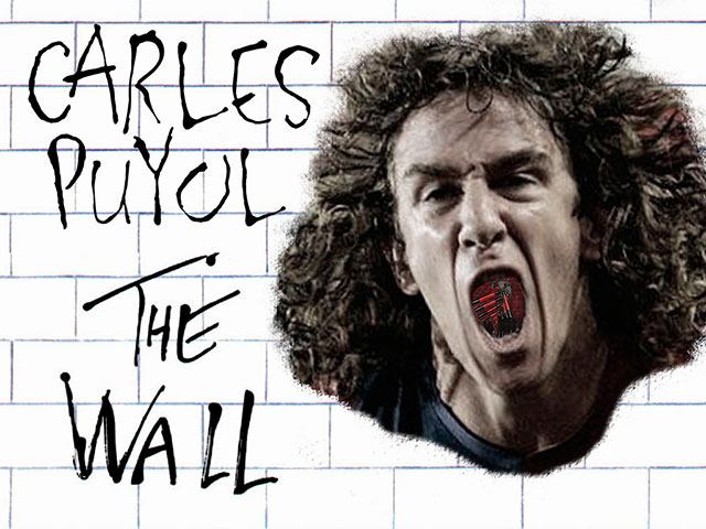 Carles Puyol als The Wall