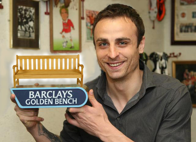 Berbatov wint de Gouden Bank