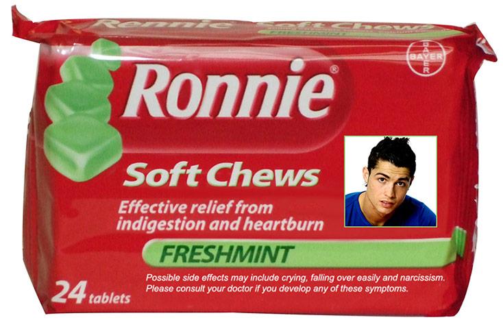 Cristiano Ronaldo Soft Chew