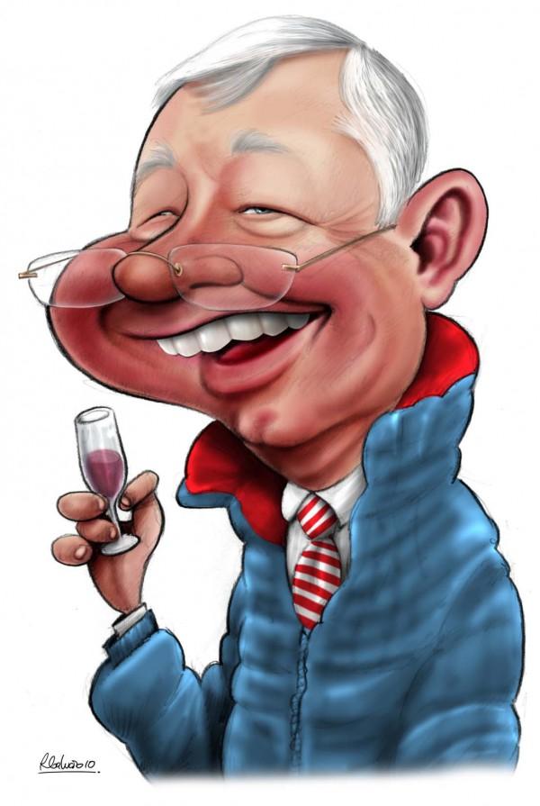 Sir Alex karikatuur