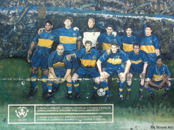 Boca Team graffiti