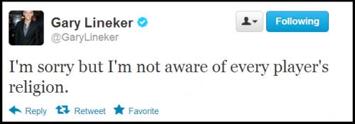 Lineker Twitter