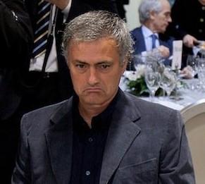 Grumpy Mourinho