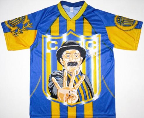 Rosario Central moustache