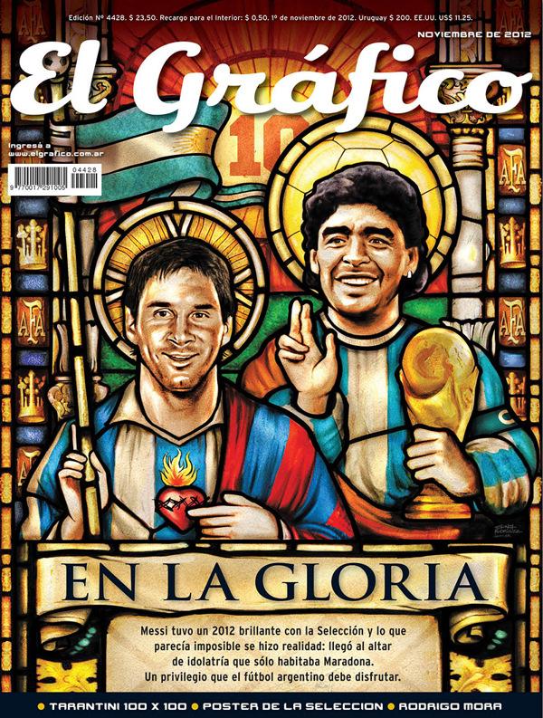 Messi en Maradona