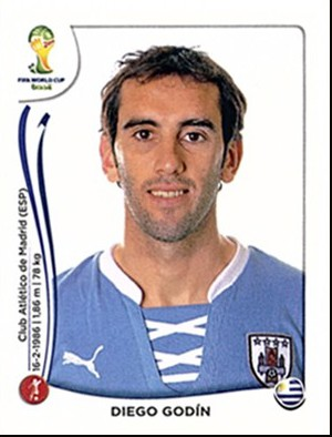 Diego Godin Panini