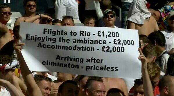 Arriving after elimination-priceless