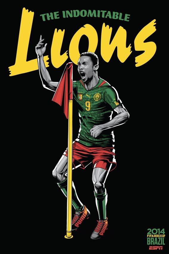 Kameroen poster