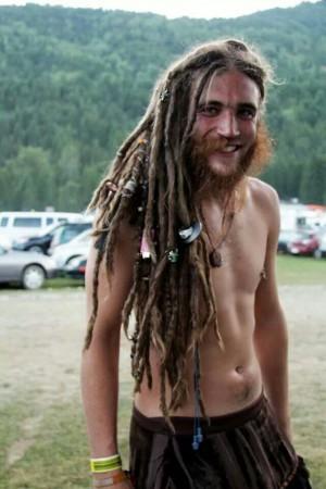 Dreadlocks Hippie