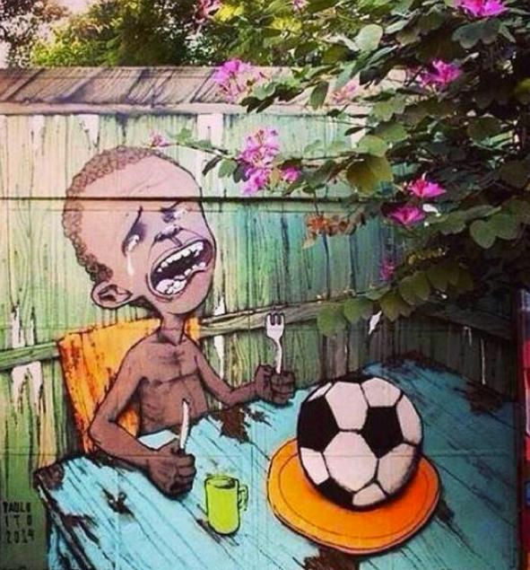 Brood en voetbal