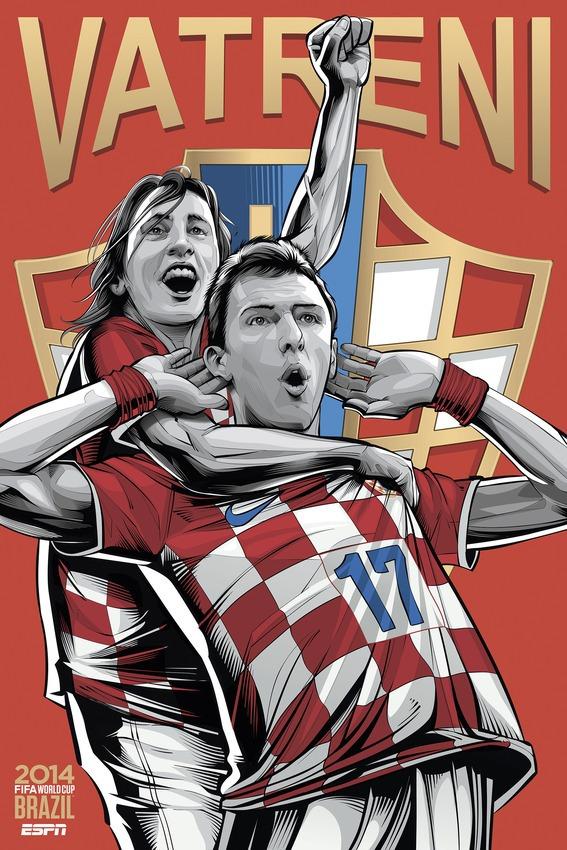 Kroatie poster