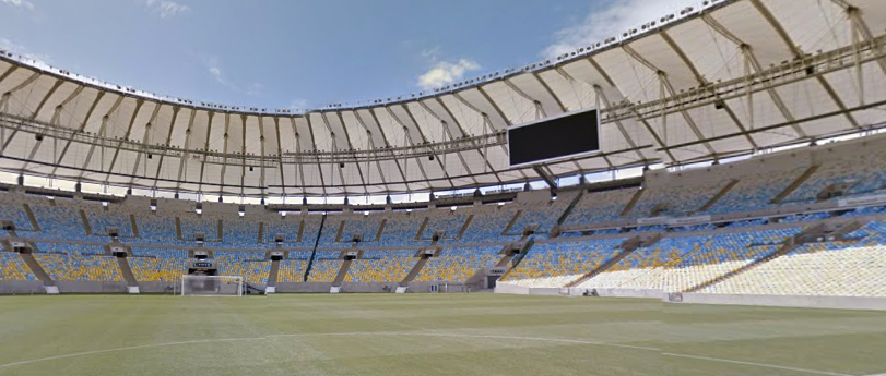 Alle WK stadions in Streetview