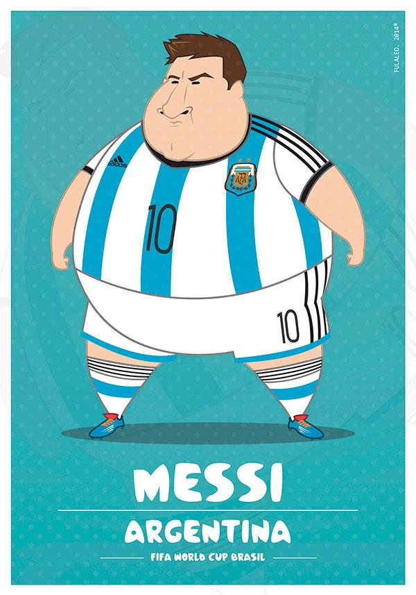 Dikke Messi