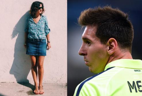 Messi schaduw
