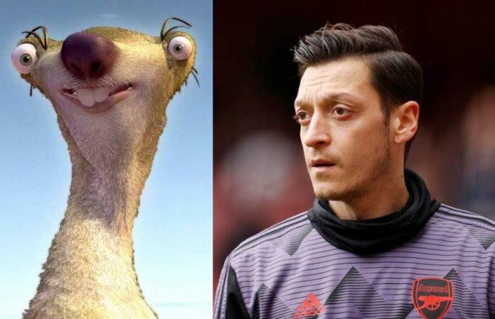 Özil en Sid lookalike