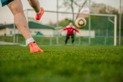 traptechnieken voetbal